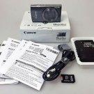 Canon PowerShot Digital ELPH 160 20.0 MP Digital Camera - Silver w/32GB MicroSD