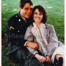 "Tony Danza and Geraldine James in ""Freedom Fighter"" TV Movies Press Photo - 1988"