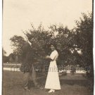 Antique Good Looking African American Couple Man Woman Old Photo Black Americana