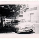 1954 Vintage Car Old Photo Classic Picture Black White Automobile Americana Cars