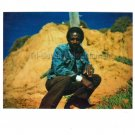 1970-1979 Married African-American Man in Cool Pose Old Photo Black People USA