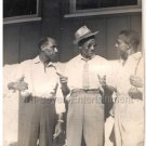 1939 Vintage African American Men Hanging Out Old Photo People Black Americana