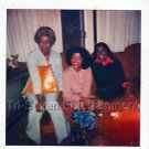 1970s Vintage African-American Women Photo Party Black People Color Polaroid USA