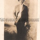 Antique African American Man in Suit Real Photo Postcard RPPC Black Americana