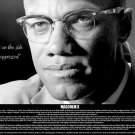 Malcolm X Poster Truth is On Side of the Oppressed African American Bio (18x24)