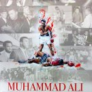 Muhammad Ali Poster w/ Bio African American Black History Boxing Boxer 18x24