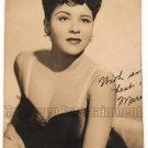 Vintage African American Pretty Woman Glamour Old Photo Black Americana V051