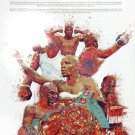 Floyd Mayweather Jr Poster Wall Art Print with Bio African American (18x24)