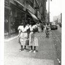 Vintage African American Women Old Photo 1950 Los Angeles Black Americana V08
