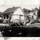 Antique Beautiful African American Pretty Woman Photo Old Black Americana EVA10