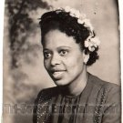 Vintage African American Pretty Woman Photo Booth Old Black Americana TPB28