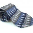 BERGAMO NEW YORK Men's New 100% Silk Tie Gray Black NWOT Necktie Ties B1009