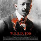 WEB Du Bois Poster w/ Bio Black History African American NAACP Founder (18x24)