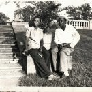 Vintage African American Woman Man Couple Old Photo Black Americana HS55