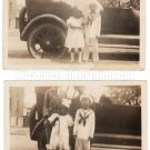 Antique African American Children Kids Photo Old Black Americana (LOT OF 2) HS39