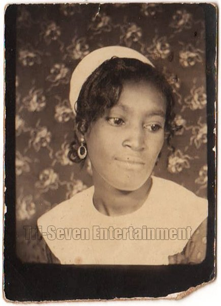 Vintage African American Gorgeous Woman Photo Booth Old Black Americana TPB24