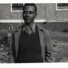Vintage African American Handsome Older Man Old Photo Black Americana HS47