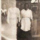 Antique African American Women Man Old Photo Vintage Woman Black Americana V03