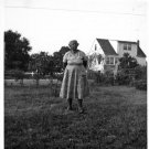 Vintage African American Woman Old Photo Black Americana SQ07