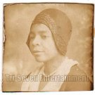 Antique African American Pretty Woman Photo Booth Old Black Americana TPB35