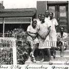 Vintage African American Family Women Group Old Photo Black Americana HS59
