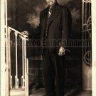 Vintage African American Handsome Debonair Man Old Photo Black Americana V14