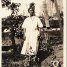 Vintage Older African American Woman Mother Family Photo Old Black Americana 02