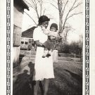 Vintage African American Mother Woman Boy Child Old Photo Black Americana V046