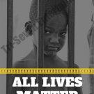 All Lives Matter Poster Art Photo Print African American Boy (18x24)