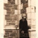 Vintage African American Woman in Coat and Hat Old Photo Black Americana V11