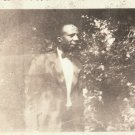 Vintage African American Man in Suit and Bow Tie Photo Old Black Americana HS16