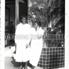 Vintage African American Women Old Photo 1950 Los Angeles Black Americana V06