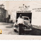 Vintage African American Man Garage Old Photo Black Americana HS72