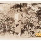 Antique African American Woman of Beauty Old Photo Black Americana HS74