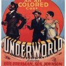 Underworld Movie Poster Oscar Micheaux (1937)