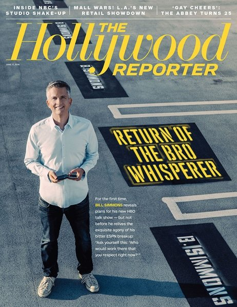 The Hollywood Reporter Magazine - THE BRO WHISPERER - JUNE 17 2016 ISSUE (NEW)