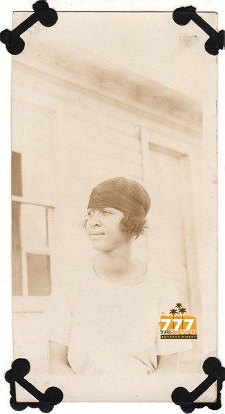Antique African American Woman Real Photo Postcard RPPC Black Americana TRP24