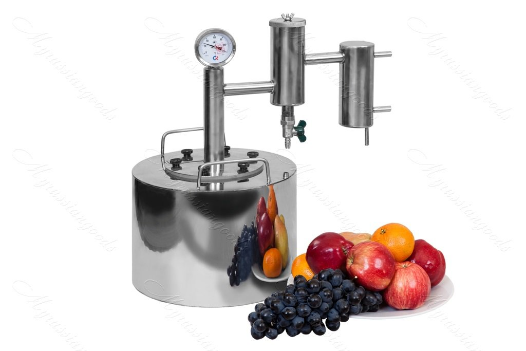 20L Russian Alcohol Distiller Moonshine still Reflux Vodka whiskey home brew kit pot 5gal