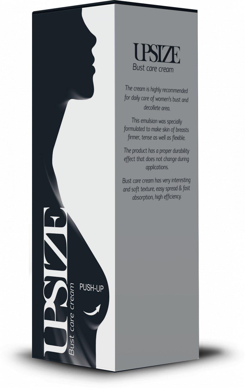UPSize bust push-up increase care cream decollete elasticity skin