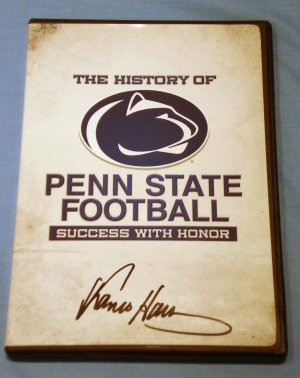 Franco Harris Autographed DVD The History of Penn State Football