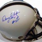 Richie Lucas & Denny Onkotz Autographed Penn State Mini Helmet