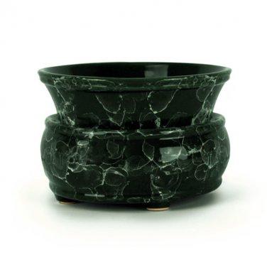 Green Marble 2-n-1 Candle Tart Electric Ceramic Warmer