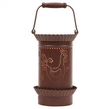 Country Tin Rooster Candle Tart Warmer