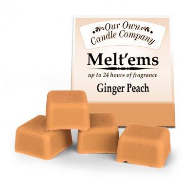 Ginger Peach Melt'ems Warmer Tarts