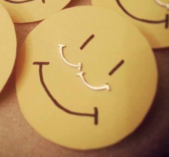 Smile Stud Earrings - Handmade