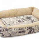 Fashion Pet Bed Cushion Dog Cat Warm Mat Soft Pad Nest For Crate House Medium