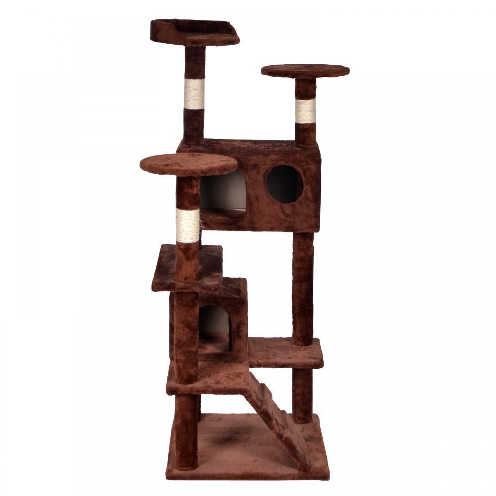 New Bestpet 52 Quot Cat Tree Tower Condo Furniture Scratch