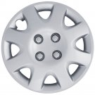 "Silver Hub Cap Fits 1998 1999 2000 14"" Aftermarket Wheel Cover Fits Honda Civic"