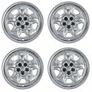 "4 PC Set Chevrolet Camaro 18"" Chrome Wheel Skins Rim Covers Hub Caps Wheels"