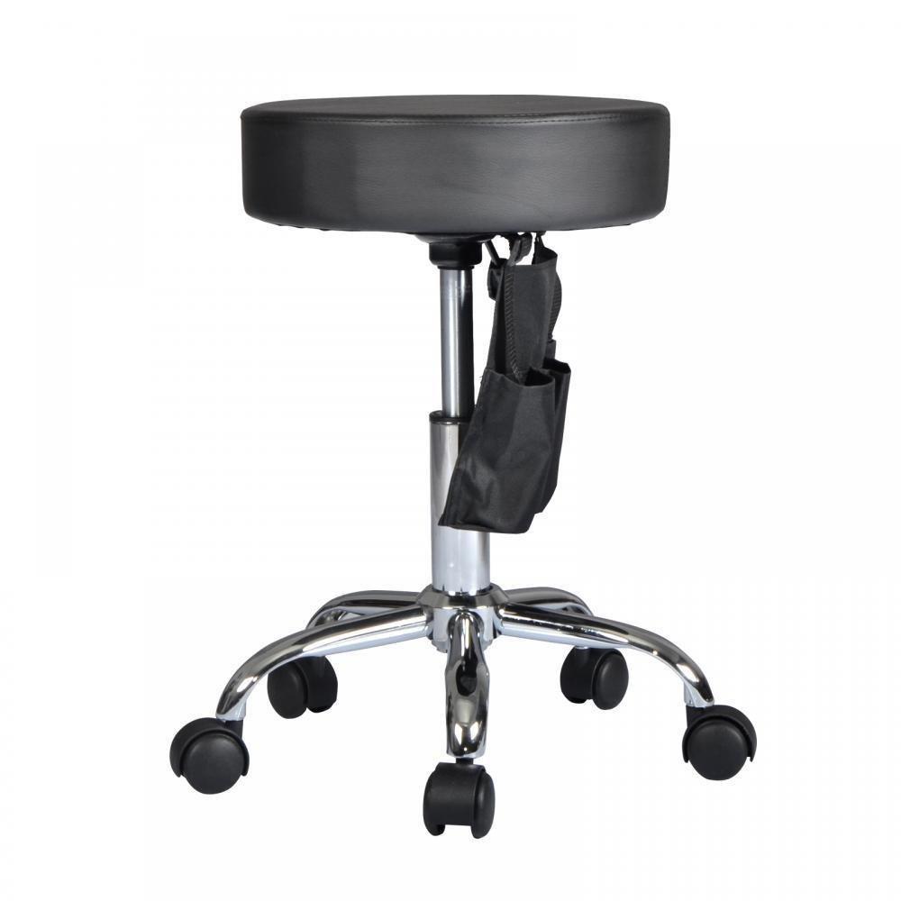 New Black Adjustable Hydraulic Rolling Swivel Stool Tattoo